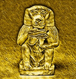 Crypto Heroes Series I Gold Thoth